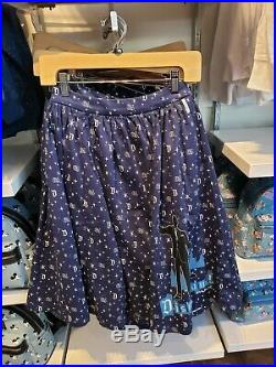 2020 Disney Parks Disneyland 65th Anniversary Her Universe Dress Skirt Medium