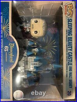 2020 Disney Parks Exclusive Disneyland 65th Anniversary Walt Castle Funko Pop