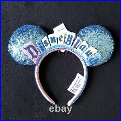 2020 Disneyland 65th Anniversary Popcorn Bucket & Vintage Marquee Minnie Ears