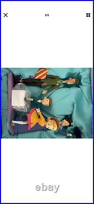 3 Figurine Disneyland Paris By Kevin Jody Mary Poppins limited 55 Anniversary