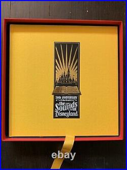 A Musical History Of Disneyland Box Set, 50th Anniversary 6 CDs & Hardcover Book