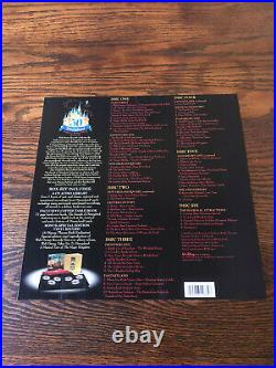 A Musical History of Disneyland 50th Anniversary 6 CD Box Set Hardcover Book