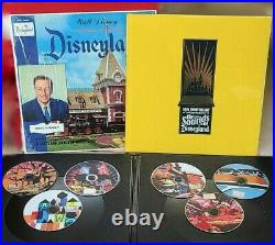 A Musical History of Disneyland, 50th Anniversary 6 cd, LP, & Book (Sealed)