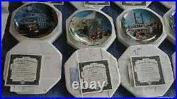 Bradford Exchange, Disneyland's 40th Anniversary Collector Plates set of 12