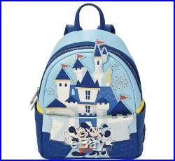 CONFIRMED ORDER DISNEYLAND PARK 65th ANNIVERSARY LOUNGEFLY MINI BACKPACK