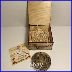 Club 33 Disneyland Indiana Jones Attraction Coin 25th Anniversary Medallion