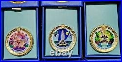 Club 33 Disneyland Opening day Attraction Pins 6 Pin Set 65th Anniversary