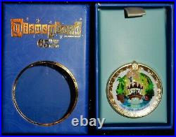 Club 33 Disneyland Opening day Attraction Pins 6 Pin Set 65th Anniversary withbox