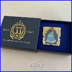 Club 33 Disneyland Pin 2017 Cinderella 50th Anniversary LE 500
