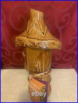 DISNEYLAND 50th Anniversary ENCHANTED TIKI ROOM Limited Ed PELE TIKI MUG Shag