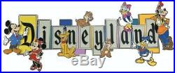 DISNEYLAND PARK 65th ANNIVERSARY DISNEYLAND MARQUEE BOXED JUMBO PIN LE PRE ORDER