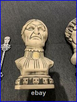 Disney Club 33 Haunted Mansion 50th Anniversary Tiki Bust Mugs
