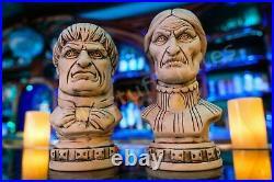 Disney Club 33 Haunted Mansion 50th Anniversary Tiki Bust Mugs + Club 33 EXTRAS