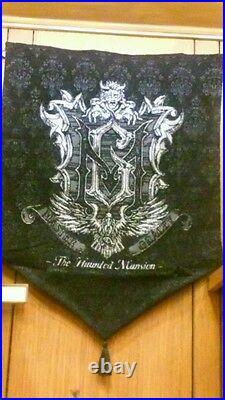 Disney Disneyland 2014 Haunted Mansion 45Th Anniversary Tapestry NEW