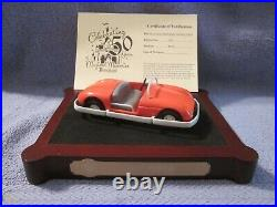 Disney Disneyland 50th Anniversary Autopia Attraction Vehicle-Brand New in Box