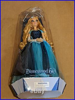 Disney Disneyland 60th Anniversary Aurora Doll Limited Edition Damaged Box