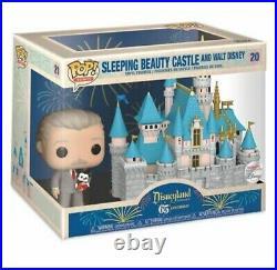 Disney Disneyland 65th Anniversary Sleeping Beauty Castle Walt Disney Funko Pop