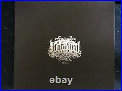 Disney Disneyland Haunted Mansion 40th Anniversary Dessert Plate Set NIB LE 500