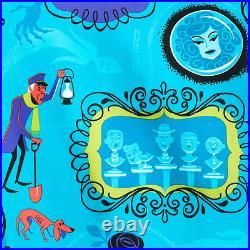 Disney Disneyland Haunted Mansion 50th Anniversary Shag 31 Ghosts Camp Shirt 3XL