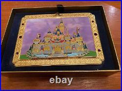 Disney Disneyland Resort 50th Anniversary Sleeping Beauty Castle Boxed Jumbo Pin