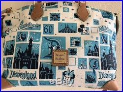 Disney Dooney & Bourke Disneyland 60th Anniversary Satchel Bag NWT
