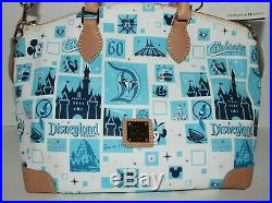 Disney Dooney & Bourke Disneyland 60th Diamond Anniversary Satchel Purse