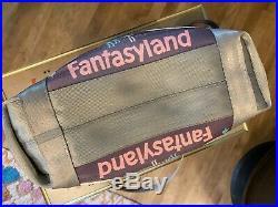 Disney Harvey's Fantasyland Poster Tote RARE Disneyland 60th Anniversary