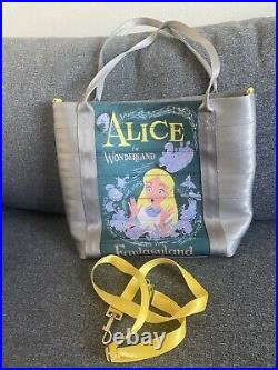 Disney Harveys Disneyland 60th Anniversary Alice in Wonderland Poster Tote