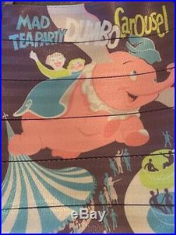Disney Harveys Seatbelt Disneyland 60th Anniversary Dumbo Poster Tote
