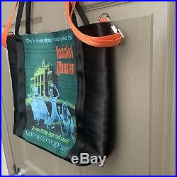 Disney Harveys Seatbelt Disneyland 60th Anniversary Haunted Mansion Poster Tote