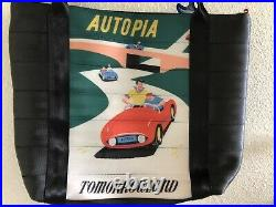 Disney Harveys Seatbelt Disneyland 60th Diamond Anniversary Autopia Tote