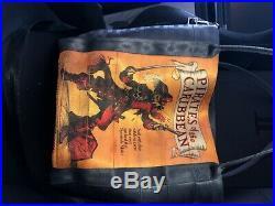Disney Harveys Seatbelt Pirates Poster Tote Disneyland 60th Anniversary