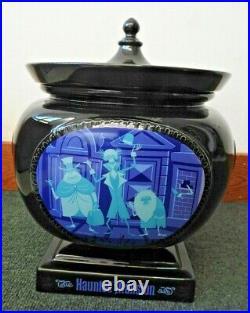 Disney Haunted Mansion SHAG Anniversary Urn Cookie Jar LE Disneyland 40th