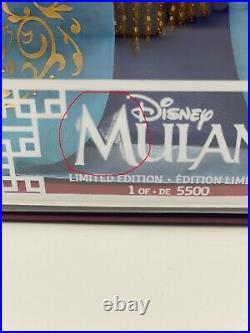 Disney Heirloom Limited Edition Mulan doll 20th Anniversary Disneyland Doll 5500