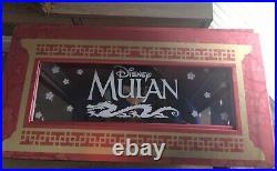 Disney Mulan 20th Anniversary Limited Edition doll 17' Disneyland New LE Rare