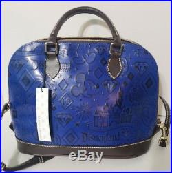 Disney Park Dooney & Bourke Disneyland 60th Diamond Anniversary Satchel Handbag