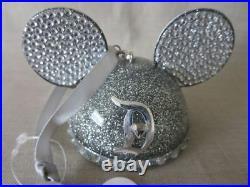 Disney Park Ear Hat Ornament Disneyland 60th Diamond Anniversary Christmas New