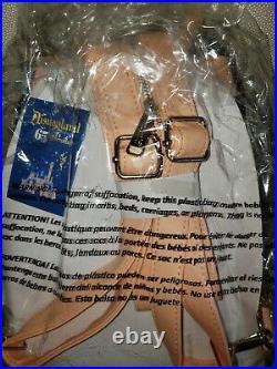 Disney Parks Loungefly Mini Backpack Bag Convertible Disneyland 65th Anniversary