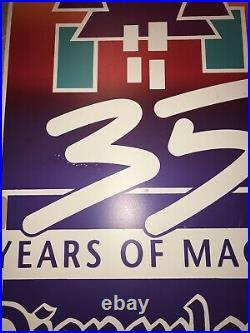 Disneyland 35th Anniversary Sign RARE