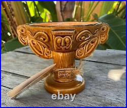 Disneyland 40th Enchanted Tiki Room Anniversary Bowl / Goblet Only 500 Made