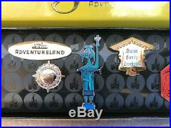 Disneyland 50th Anniversary Adventureland Pin Set Le 1500 New Enchanted Tiki