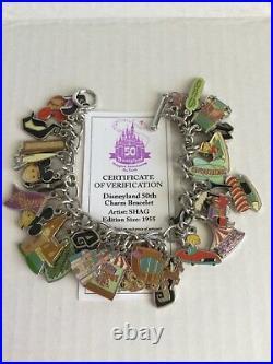 Disneyland 50th Anniversary Charm Bracelet (LE 1955) by SHAG