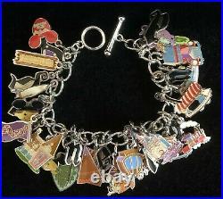 Disneyland 50th Anniversary Charm Bracelet by Shag-Edition Size 1955-New in Box