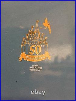 Disneyland 50th Anniversary Dinner Plates set of 4