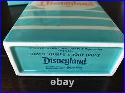 Disneyland 50th Anniversary LE 1955 Popcorn Box Kevin Kidney Jody Daily vase