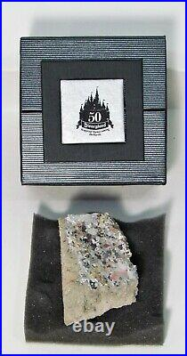 Disneyland 50th Anniversary MATTERHORN BOBSLEDS Piece of the Mountain Ride