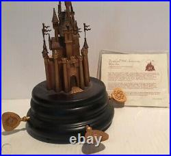 Disneyland 50th Anniversary Music Box Ltd Ed MIB