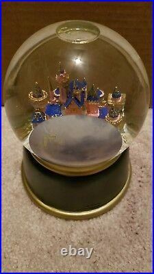 Disneyland 50th Anniversary Musical SnowGlobe A Dream is a Wish Your Heart Makes