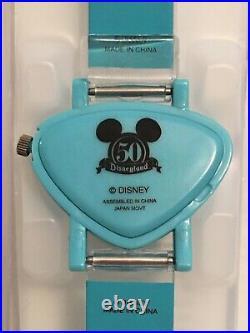 Disneyland 50th Anniversary Retro Style Watch SHAG Inspired Needs Battery New