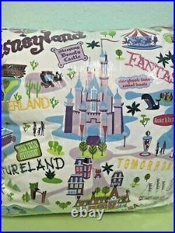 Disneyland 50th Anniversary SHAG Josh Agle LE 1955 Decorative PILLOW TAG Mint